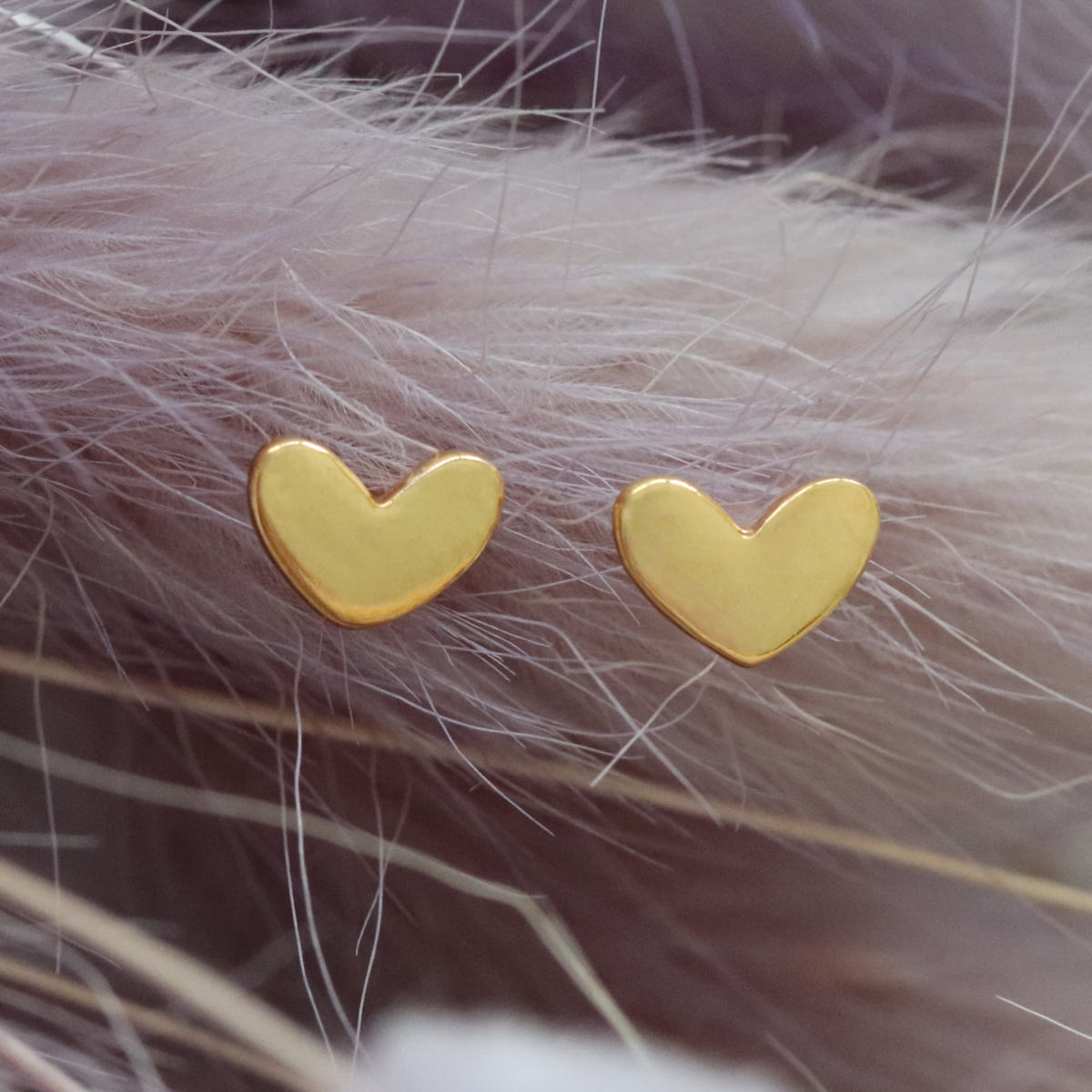 Diminutive Love Earstuds