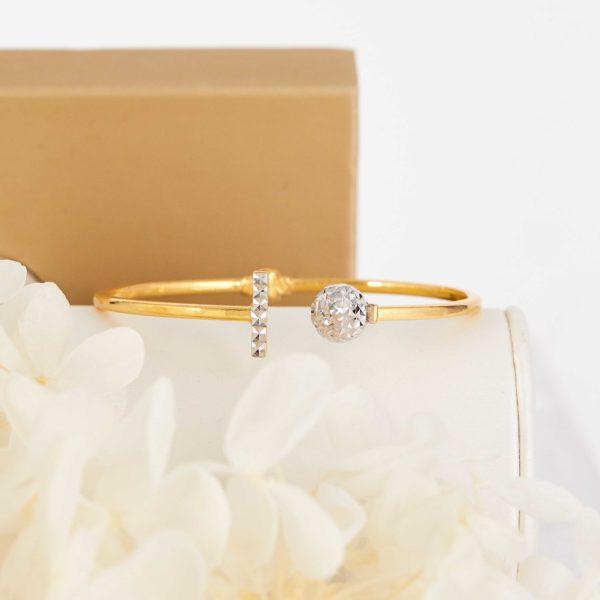 Parmenides Gold Bracelet